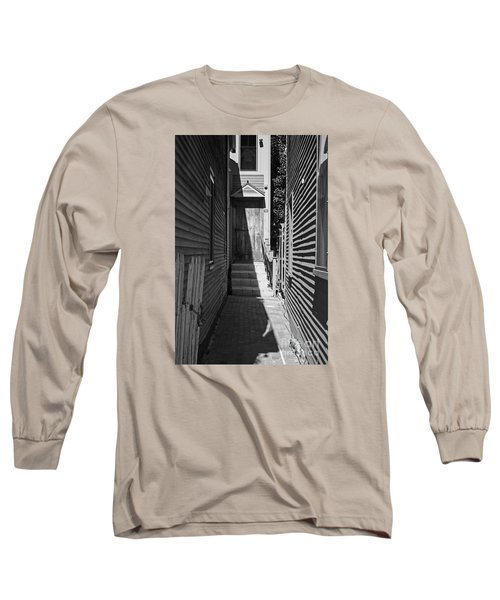 Door In An Alley Long Sleeve T-Shirt by Kevin Fortier