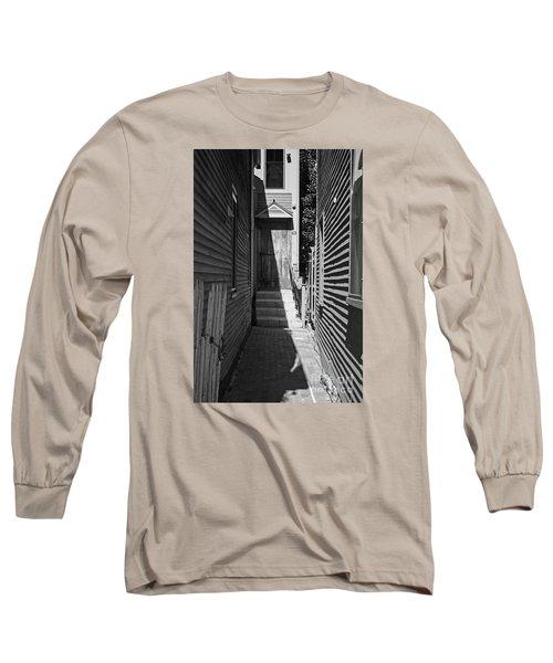 Door In An Alley Long Sleeve T-Shirt