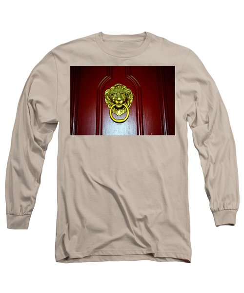 Door Knocker Long Sleeve T-Shirt