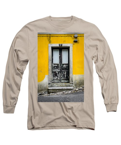Door No 37 Long Sleeve T-Shirt by Marco Oliveira
