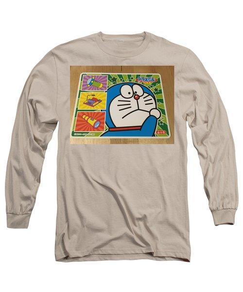 Doraemon Gadget Cat From The Future Long Sleeve T-Shirt