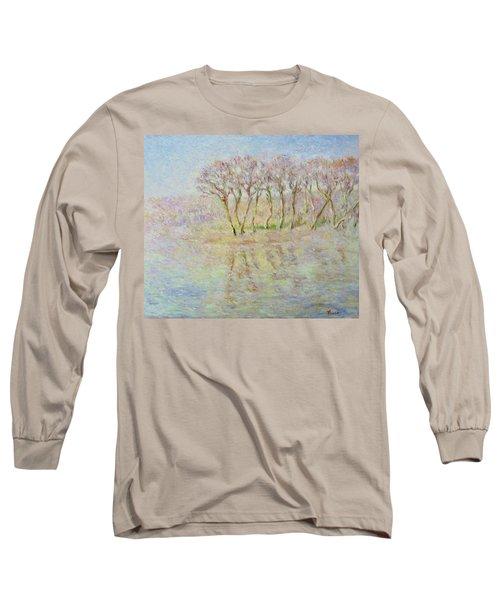 Dordogne, Beynac Et Cazenac Long Sleeve T-Shirt by Pierre Van Dijk