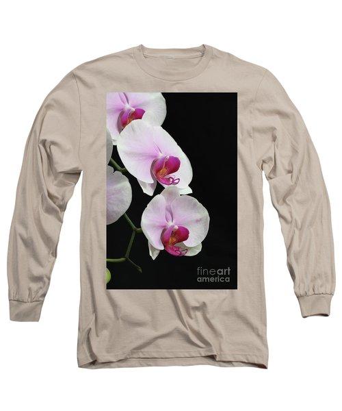 Doritaenopsis Mount Lip Fangtastic Orchid Long Sleeve T-Shirt