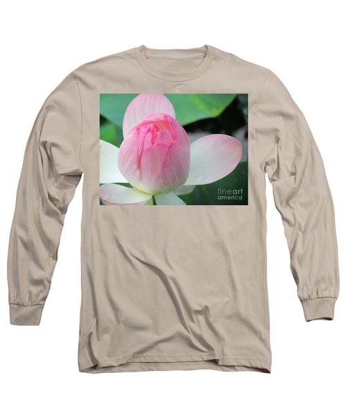 Dotus On The Lotus  Long Sleeve T-Shirt