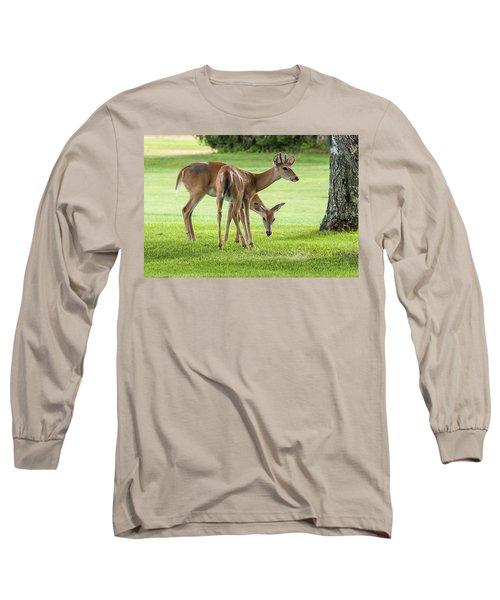 Double Deer Long Sleeve T-Shirt