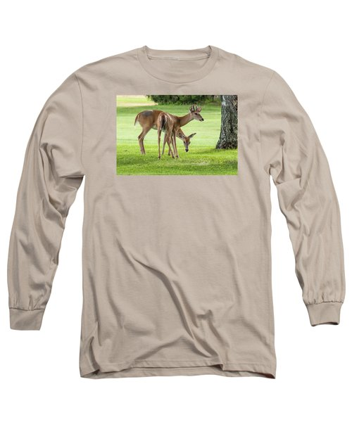 Double Deer Long Sleeve T-Shirt