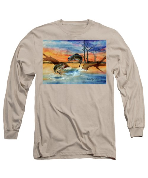 Double Jump Detail Long Sleeve T-Shirt