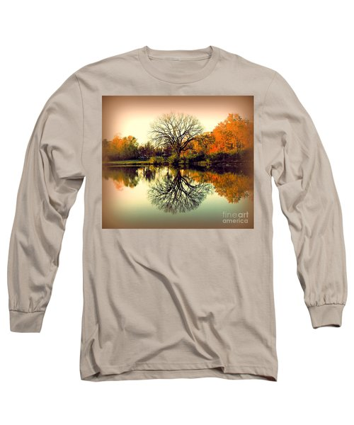 Double Take Long Sleeve T-Shirt by Nancy Kane Chapman
