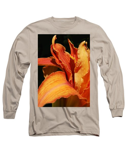 Double Tigerlily Long Sleeve T-Shirt