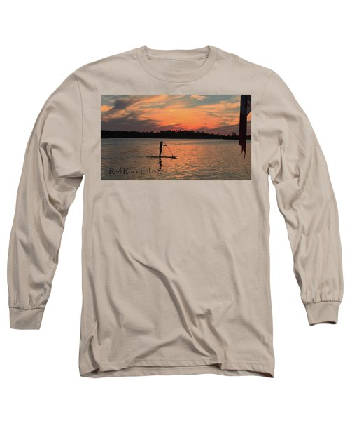 Doug Hobson, Red Rock Lake Long Sleeve T-Shirt