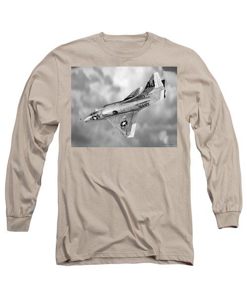 Douglas A-4c Skyhawk Long Sleeve T-Shirt