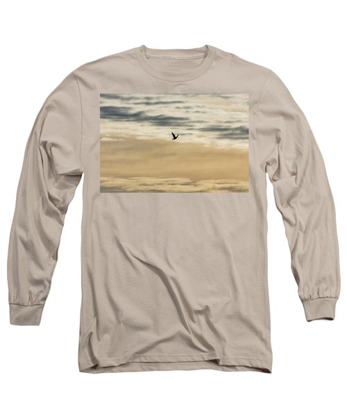 Dove In The Clouds Long Sleeve T-Shirt