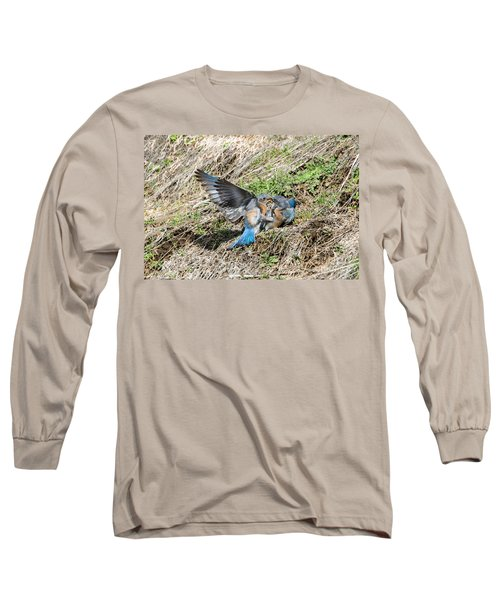 Long Sleeve T-Shirt featuring the photograph Down For The Count by Mike Dawson