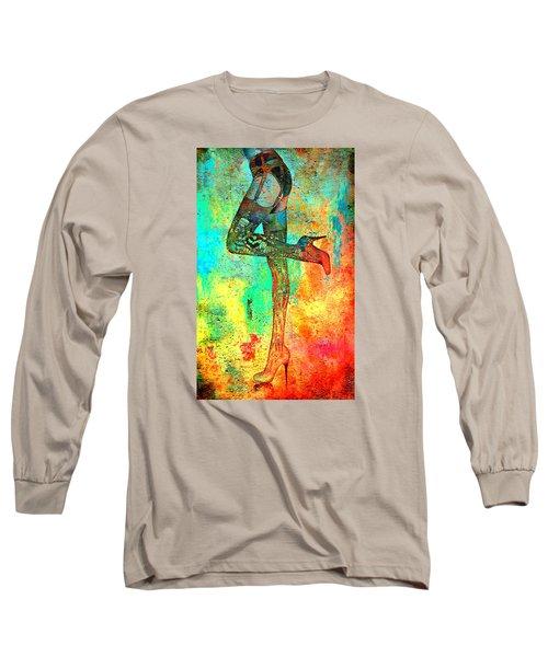 Down Hoser Long Sleeve T-Shirt by Greg Sharpe