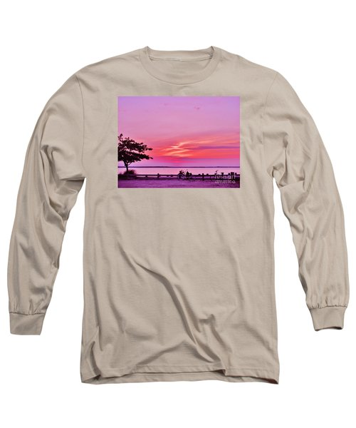 Summer Down The Shore Long Sleeve T-Shirt