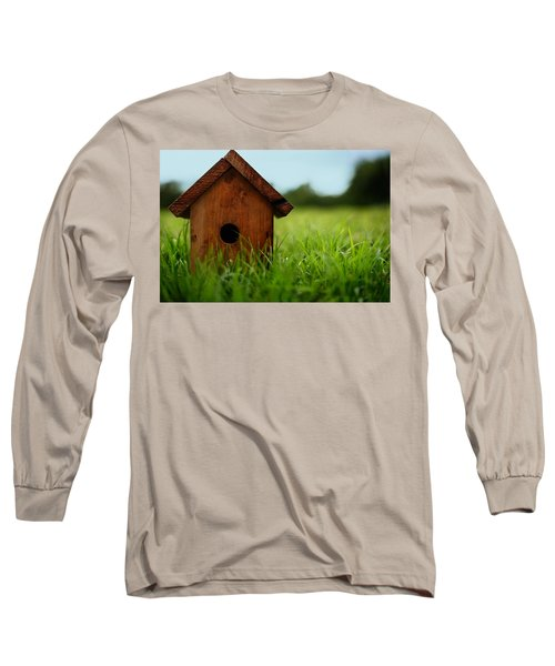Long Sleeve T-Shirt featuring the photograph Down To Earth by Laura Fasulo