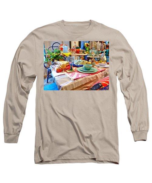 Downtown Greenville Long Sleeve T-Shirt