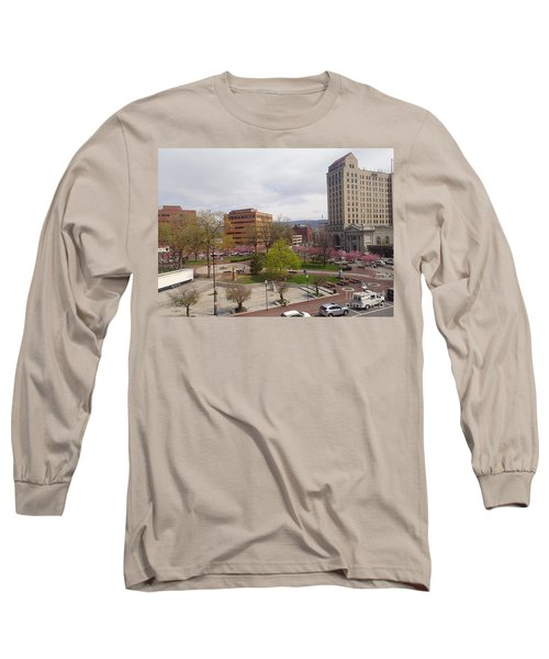 Downtown In Springtime Long Sleeve T-Shirt