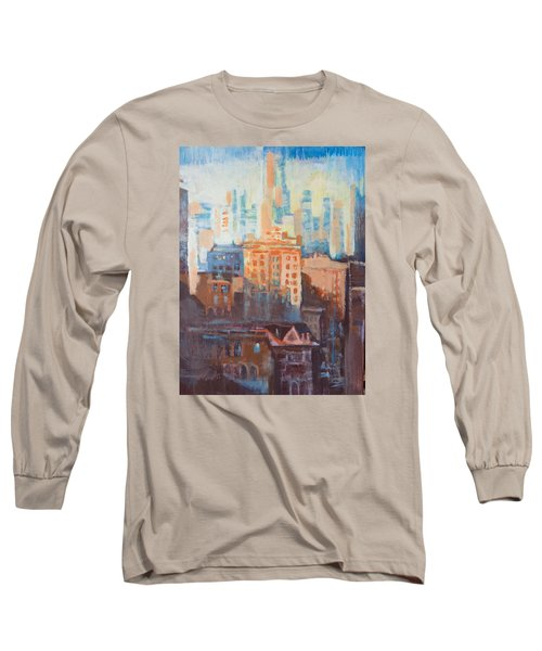 Downtown Old And New Long Sleeve T-Shirt