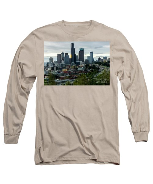 Downtown Seattle,washington Long Sleeve T-Shirt