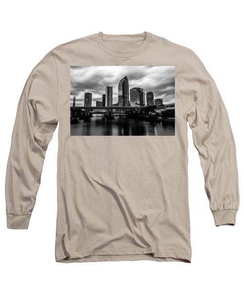 Downtown Tampa Long Sleeve T-Shirt