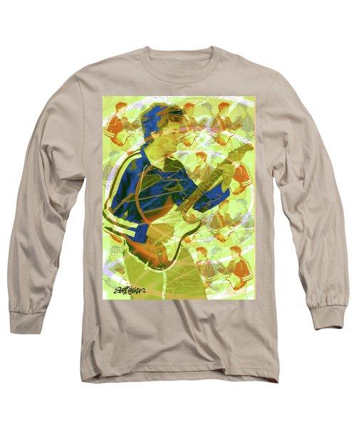 Dr. Guitar Long Sleeve T-Shirt by Seth Weaver