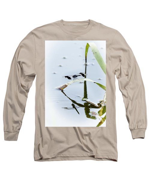 Dragon Fly Long Sleeve T-Shirt by Patrick Kain
