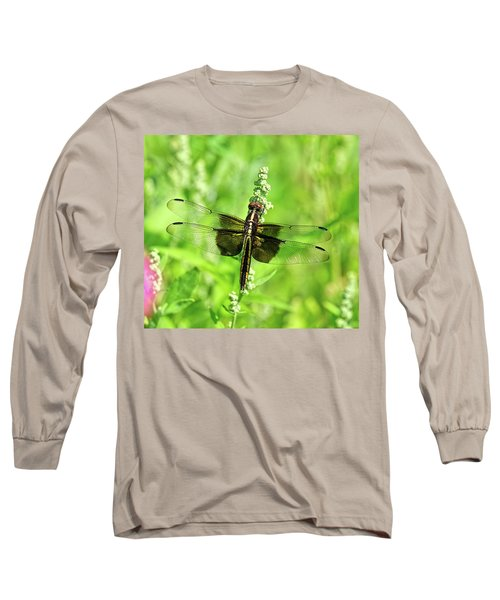 Dragonfly Beauty Long Sleeve T-Shirt
