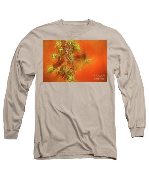Dragonfly Long Sleeve T-Shirt by Suzanne Handel
