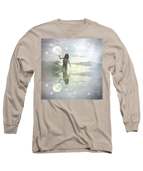 To Touch The Moon Long Sleeve T-Shirt