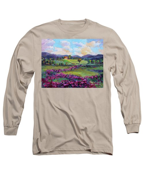 Long Sleeve T-Shirt featuring the painting Dream In Color by Jennifer Beaudet