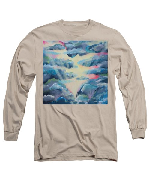 Long Sleeve T-Shirt featuring the painting Dream by Stacey Zimmerman