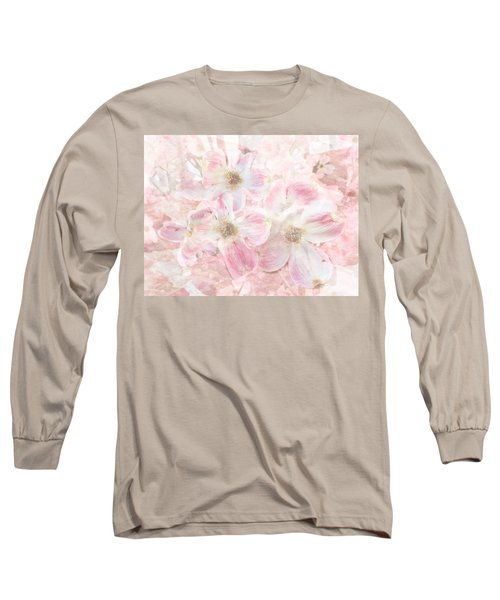 Dreaming Pink Long Sleeve T-Shirt by Arlene Carmel