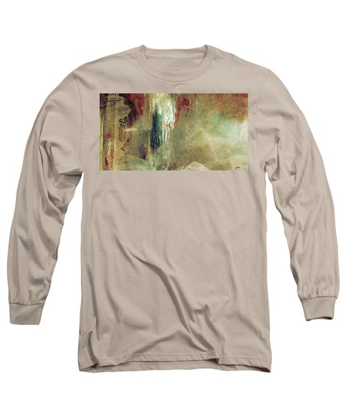 Dreams Come True - Earth Tone Art - Contemporary Pastel Color Abstract Painting Long Sleeve T-Shirt