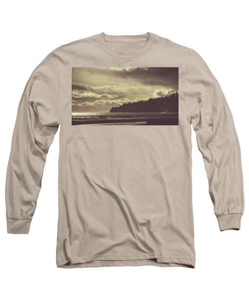 Dreamy Coastline Long Sleeve T-Shirt