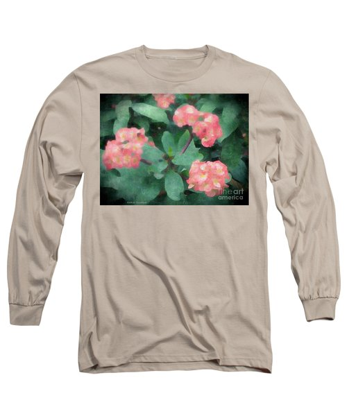 Dreamy Pink Long Sleeve T-Shirt