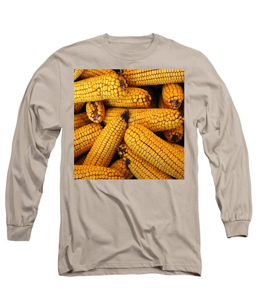 Dried Corn Cobs Long Sleeve T-Shirt
