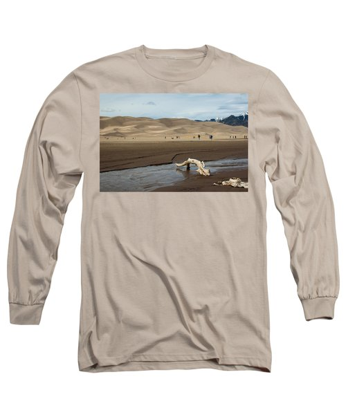 Drift Wood And Dunes Long Sleeve T-Shirt