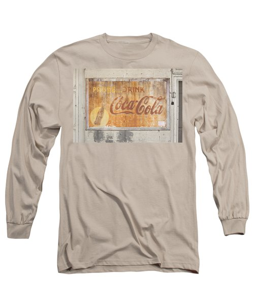 Long Sleeve T-Shirt featuring the photograph Drink Coca Cola by Mark Greenberg