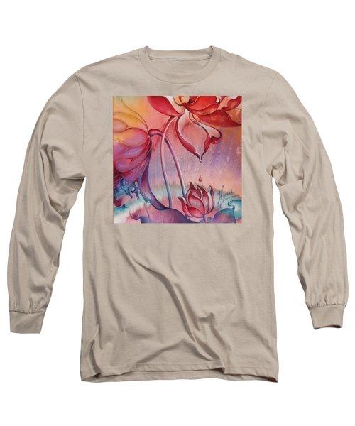 Drop Of Love Long Sleeve T-Shirt by Anna Ewa Miarczynska