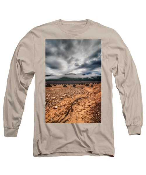 Long Sleeve T-Shirt featuring the photograph Drought by Ryan Manuel