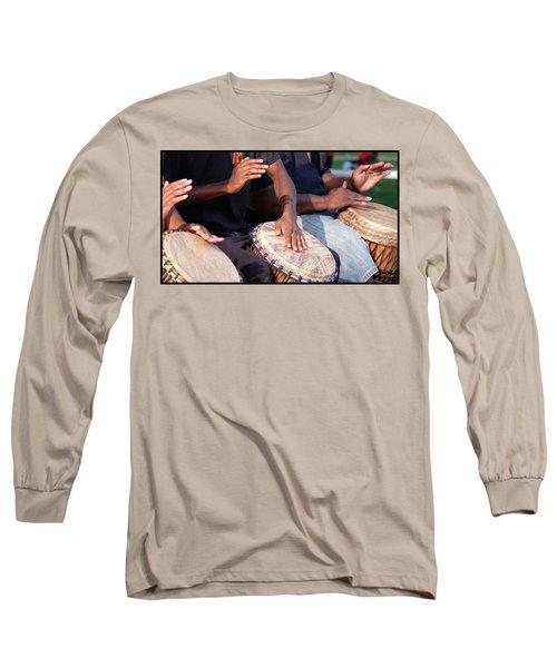 Drum Rhythm Long Sleeve T-Shirt
