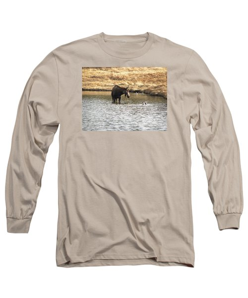 Ducks - Moose Rollinsville Co Long Sleeve T-Shirt