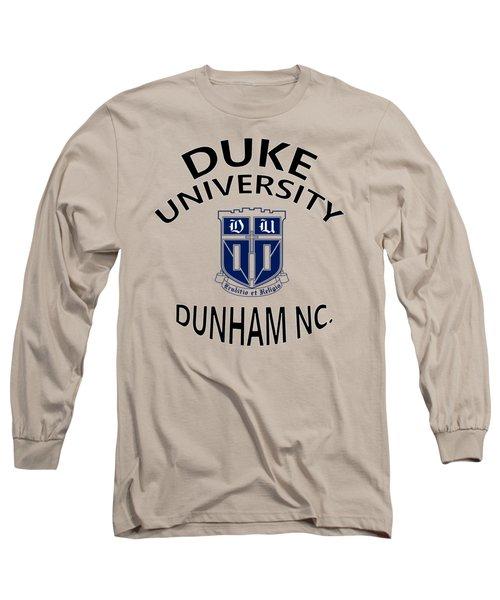 Duke University Dunham N C  Long Sleeve T-Shirt