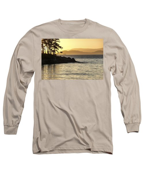 Dusk On Sucia Island Long Sleeve T-Shirt