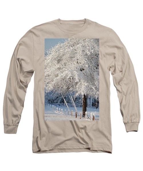 Dusted With Powdered Sugar Long Sleeve T-Shirt by Donna Bentley