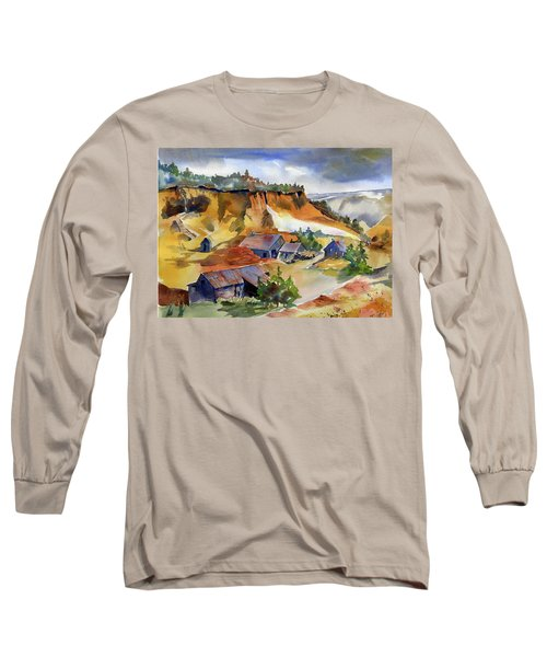 Dutch Flat Diggin's Gold Long Sleeve T-Shirt