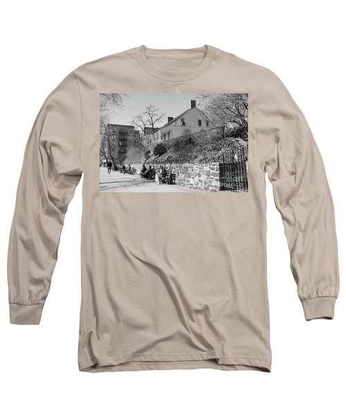 Long Sleeve T-Shirt featuring the photograph Dyckman Farmhouse  by Cole Thompson