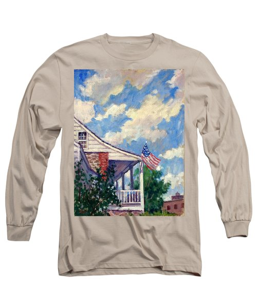 Dyckman House Nyc Long Sleeve T-Shirt