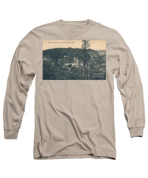 Dyckman Street At Turn Of The Century Long Sleeve T-Shirt